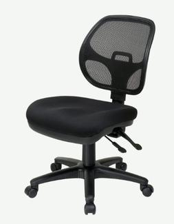 ProGrid Back Ergonomic Task Chair Arms: Not Included
