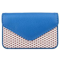 MaxGear PU Leather Business Card Case for Men or Women with