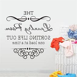Quick Trim Of Wall Stickers Huphoon Self Adhesive The Laundr