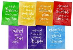 Rainbow of Diversity Motivational Posters Set. Inspirational
