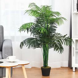 REALISTIC ARTIFICIAL PALM TREE Decorative Fake Plant Office