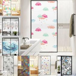 Removable Static Cling Glass Window Film Sticker Home Bathro