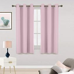 Room Darkening Blackout Window Curtains - RYB HOME Solid Sil