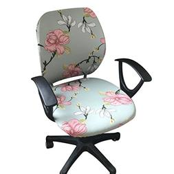 Jiyaru Rotating Armchair Slipcover Removable Stretch Compute