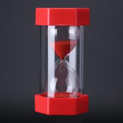 Sand Glass Hourglass Minutes Timer Clock Home Office Decor G