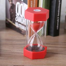 Sand Timer  Glass Hourglass Minutes Timer Clock Home Office