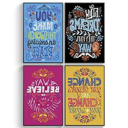 Shareable Posters An Unusual Friendship Gift, Set of FOUR 11