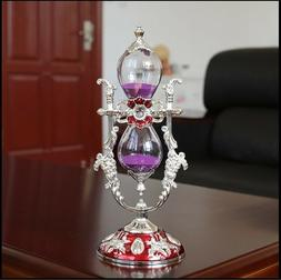 Ship from USA. Russian Style Sand Timer Hourglass Desktop To