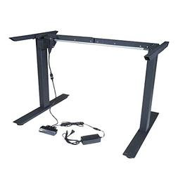 Titan Single Motor Electric Adjustable Base Height Sit-Stand