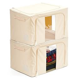 storage foldable container basket bins