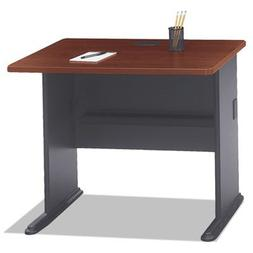 36 in. Straight Desk in Hansen Cherry - Series A