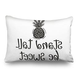 Throw Pillow Covers Stand Tall Be Sweet Typography Nursery F