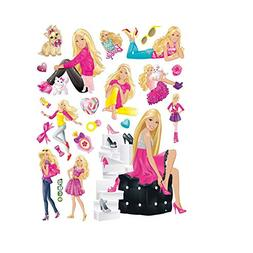 Fangeplus(TM DIY Removable Barbie Doll Girl Room Art Mural V