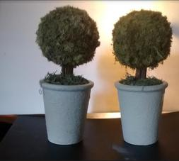Topiary Moss Trees Artificial Plant Decor Office Home Desk B