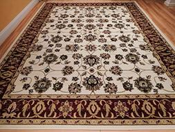 New Traditional Area Rugs 5x8 Persian Area Rugs All-Over Pat