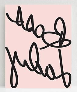 UNFRAMED Boss Lady Print, 8x10 Gifts for Women, Wall Decor