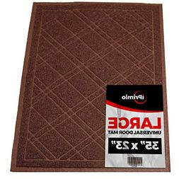 "SlipToGrip Universal Door Mat – Plaid Design Size 35"" x"
