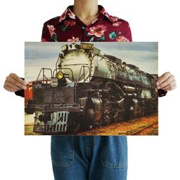 us seller steam locomotive train kraft paper