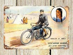 US Seller- wall decor office restaurant Indian Motorcycle me