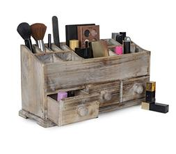 Vanity Drawer Beauty Organizer 3 Drawers - Wooden Cosmetic S