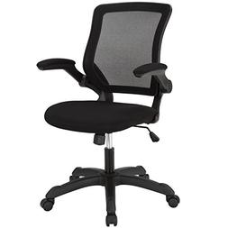 LexMod Veer Office Chair with Mesh Back and Mesh Fabric Seat
