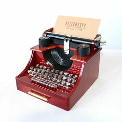 Vintage Typewriter Music Box for Home/Office/Study Room Déc