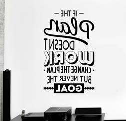 Vinyl Wall Decal Inspire Office Decoration Motivation Sticke