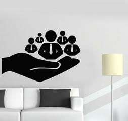 Vinyl Wall Decal Management Human Resources HR Office Decor