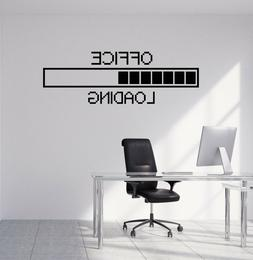 Vinyl Wall Decal Office Pixel Decor Study Working Space Stic
