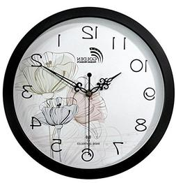12 Inches Wall Clock , Best Designer Radio Controlled Clock