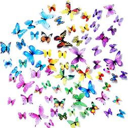 wall decals butterfly 3d sticker