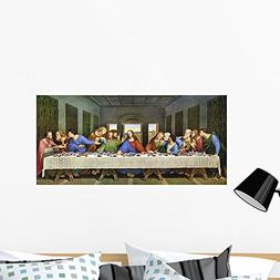Wallmonkeys WM173856 Last Supper Wall Decal Peel and Stick G