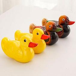Wooden Duck Figurines Ornaments for Desktop Office Decor- 5.
