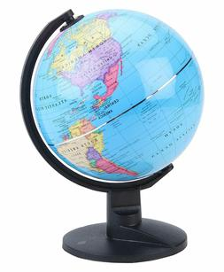 World Map Globe 6in Geographical Details Globe Home Decor Of